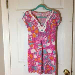 Lily Pulitzer summer dress.